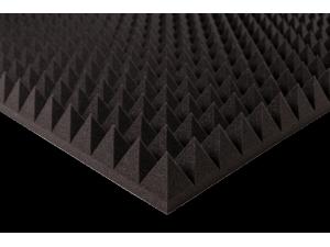 """22 kg/m<sup>3</sup>, akustinis porolonas, """"Piramidės"""""""