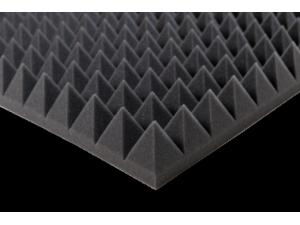 """50 kg/m<sup>3</sup>, akustinis porolonas """"Piramidės"""""""